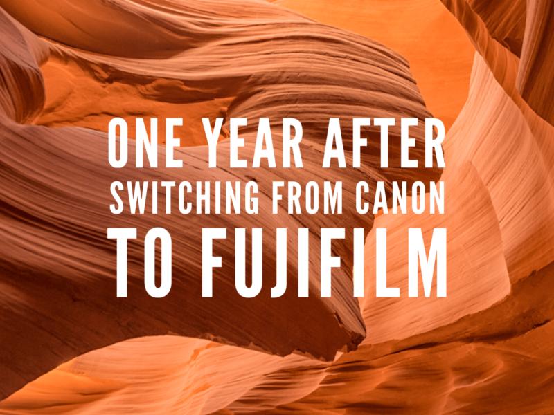 one year using fujifilm