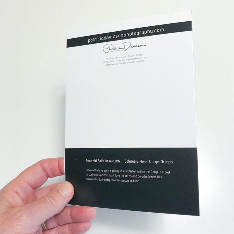 card back