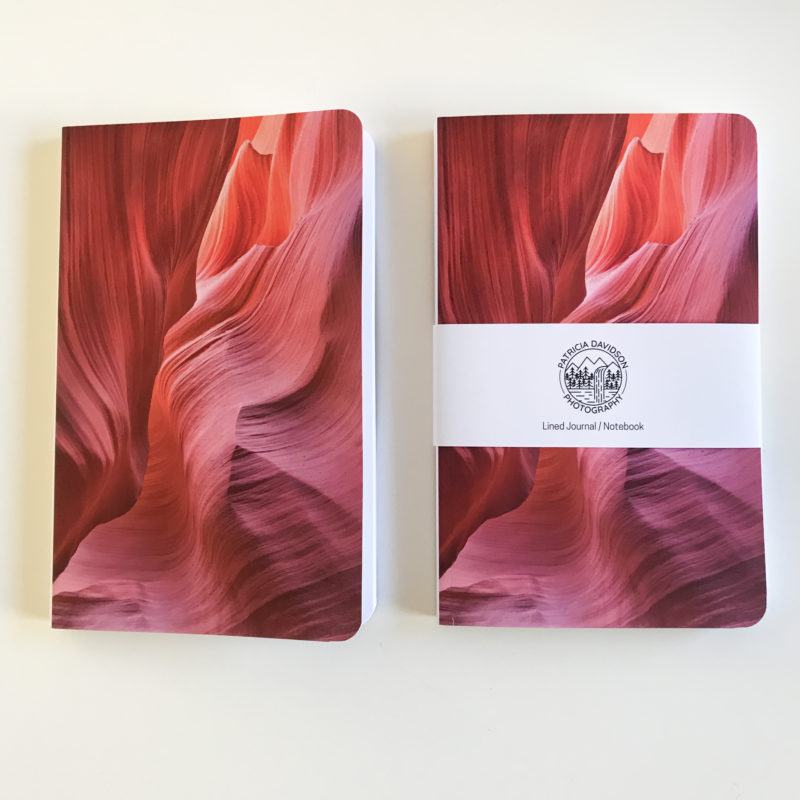 journals side by side front view