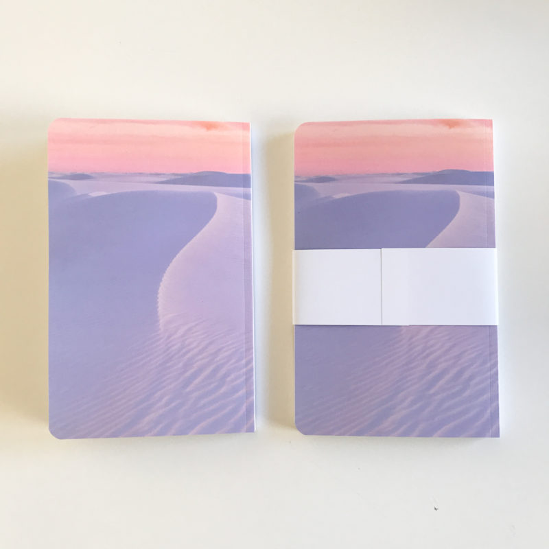 journals back view